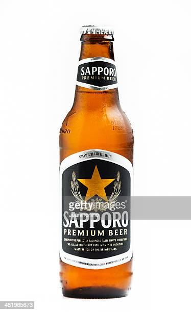 sapporo premium beer - sapporo stock pictures, royalty-free photos & images