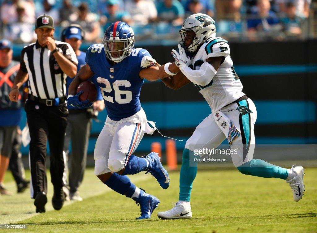 New York Giants v Carolina Panthers : News Photo