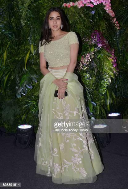 Sara Ali Khan at Virat Kohli and Anushka Sharmas reception in Mumbai