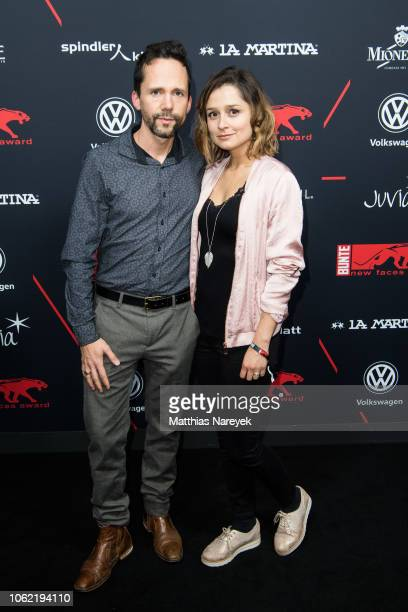 Sara Alles and guest attend the New Faces Award Style 2018 at Spindler Klatt on November 15 2018 in Berlin Germany