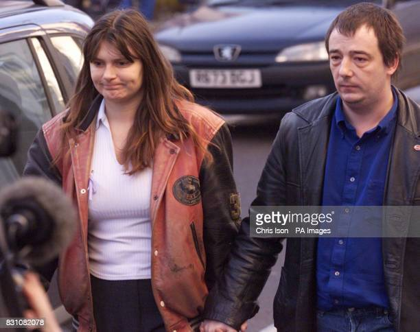 Sara and Michael Payne arrive at Lewes Crown Court in East Sussex to hear the judge's summing up of the trial of Roy Whiting the man accused of the...