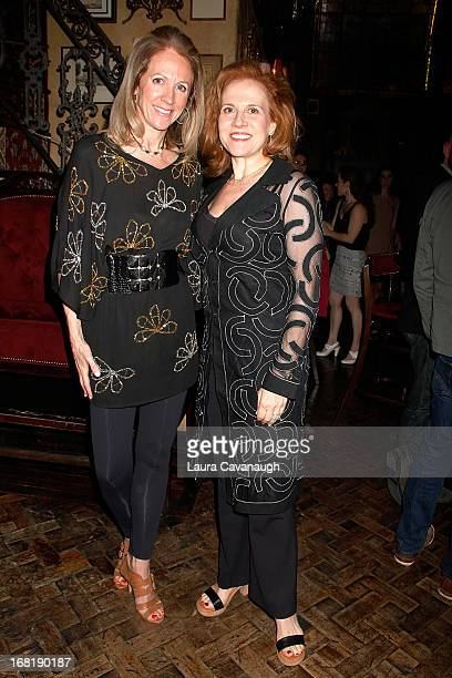 Sara Ann Johnson and Anna Bergman attend the 31st Annual Fred Adele Astaire Awards Nominees Reception at Lillie's Times Square on May 6 2013 in New...