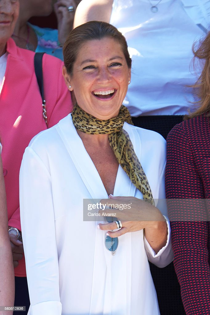 Sara Baras attends the XXV FEDEPE awards ceremony at Retiro Park on July 26, 2016 in Madrid, Spain.