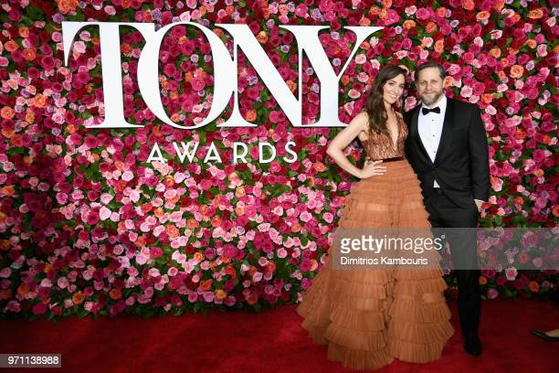 Sara Bareilles and Joe Tippett attend the 72nd Annual Tony Awards at Radio City Music Hall on June 10 2018 in New York City
