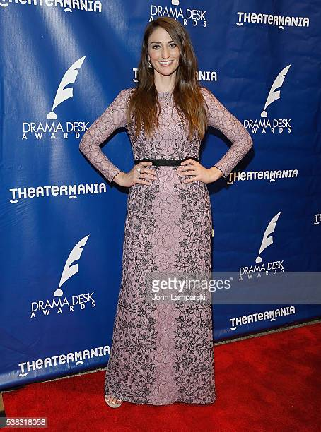 Sara Bareilles attends 2016 Drama Desk Awards at Anita's Way on June 5 2016 in New York City