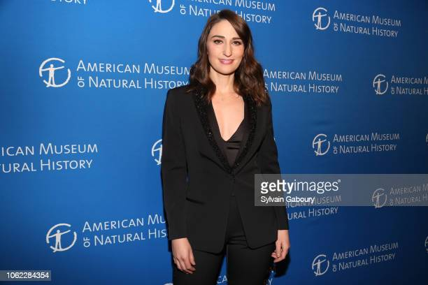Sara Bareilles attends American Museum Of Natural History's 2018 Museum Gala at American Museum of Natural History on November 15 2018 in New York...