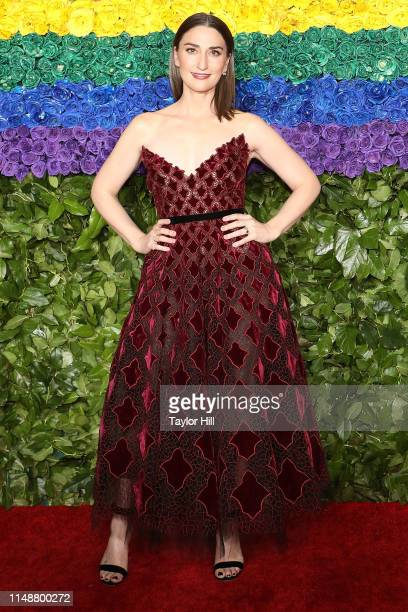 Sara Bareilles attends the 2019 Tony Awards at Radio City Music Hall on June 9 2019 in New York City