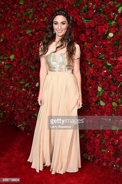 Sara Bareilles attends the 70th Annual Tony Awards at The Beacon Theatre on June 12 2016 in New York City