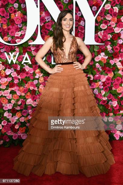 Sara Bareilles attends the 72nd Annual Tony Awards at Radio City Music Hall on June 10 2018 in New York City