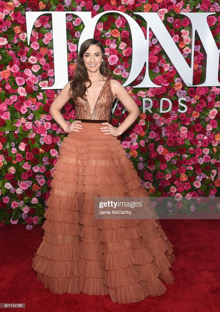 Sara Bareilles attends the 72nd Annual Tony Awards at Radio City Music Hall on June 10, 2018 in New York City.