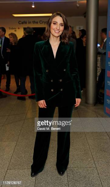 Sara Bareilles attends the press night after party for 'Waitress The Musical' at Cafe At The Crypt St MartinintheFields on March 7 2019 in London...