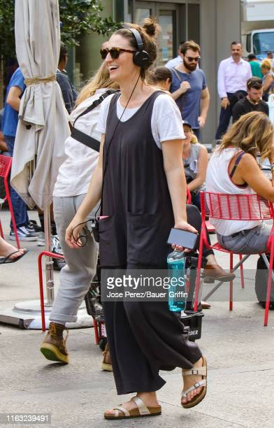 Sara Bareilles is seen on August 22 2019 in New York City