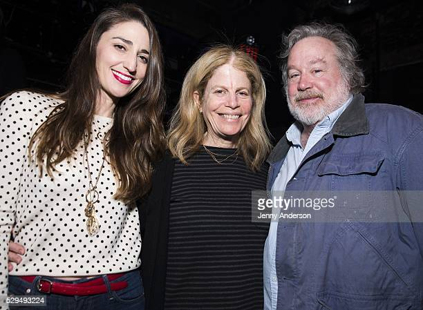 Sara Bareilles Jessie Nelson and Tom Hulce attend 'Hadestown' Orpheus Night Special Performance at New York Theatre Workshop on May 8 2016 in New...