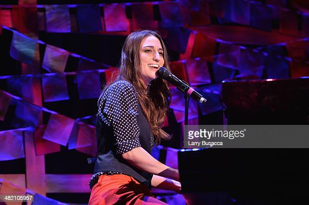 Sara Bareilles performs onstage at the SeriousFun Children's Network Gala at Cipriani 42nd Street on April 2 2014 in New York City