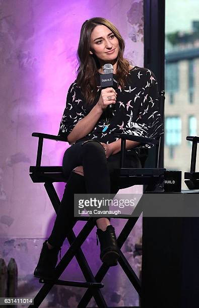 Sara Bareillles attends Build Presents to discuss Waitress at AOL HQ on January 10 2017 in New York City