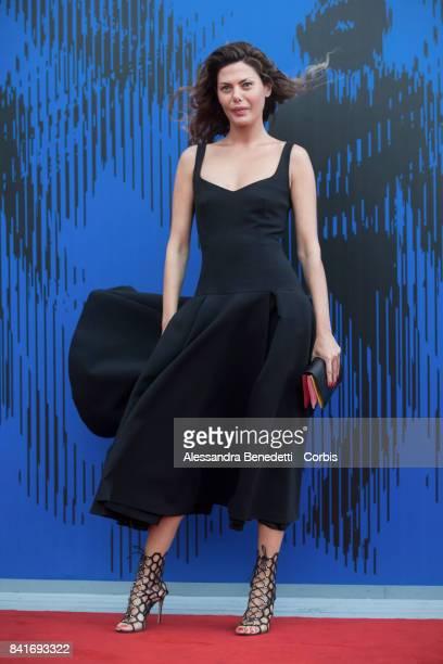 Sara Battaglia attends the The Franca Sozzani Award during the 74th Venice Film Festival at Sala Giardino on September 1 2017 in Venice Italy