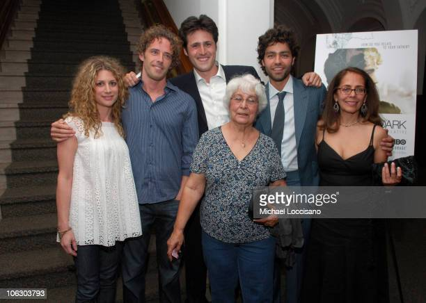 Sara Bernstein HBO Documentary Films Jim Mol Editor Jonathan Davidson Producer Priscilla Rubio Adrian Grenier Producer and Director and Mother...