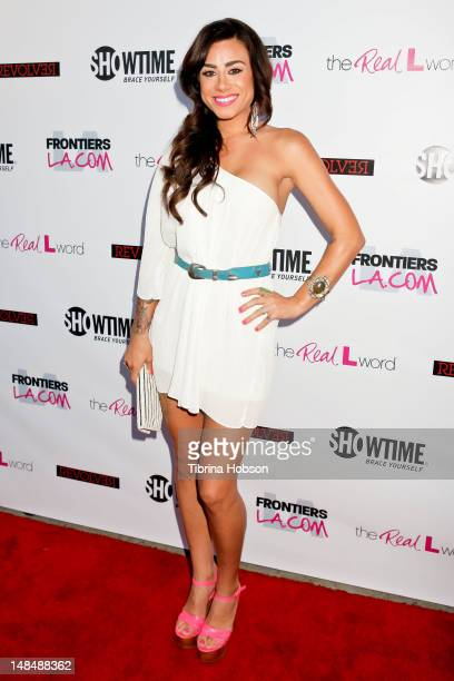 Sara Bettencourt attends the season 3 premiere of Showtime's 'The Real L Word' held at Revolver on July 17 2012 in West Hollywood California
