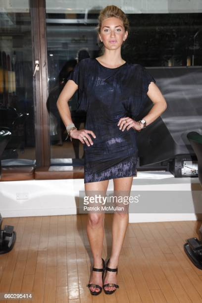 Sara Bradford attends RODOLFO VALENTIN'S Salon Spa Preview Party at 694 Madison Avenue on June 15 2009 in New York City