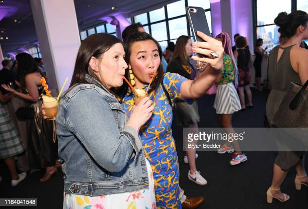 Sara Bradley and Nini Nguyen attend as The James Beard Foundation kicks off the 201920 Taste America presented by official banking and credit card...