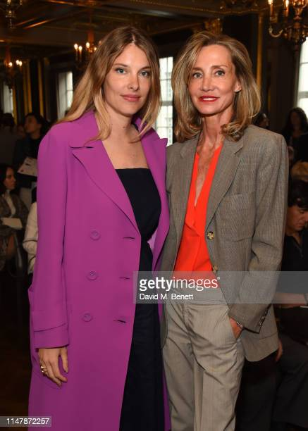 Sara Brajovic and Marie Moatti attend the United Artists For Europe charity auction at Hotel Cafe Royal on June 3 2019 in London England