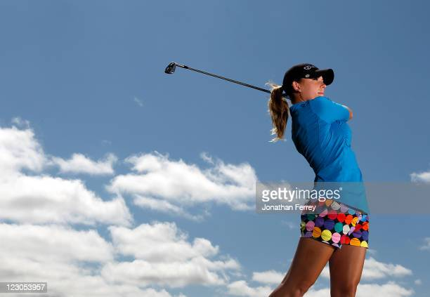 Sara Brown poses for a portrait during the Safeway Classic at Pumpkin Ridge Golf Club on August 18 2011 in North Plains Oregon