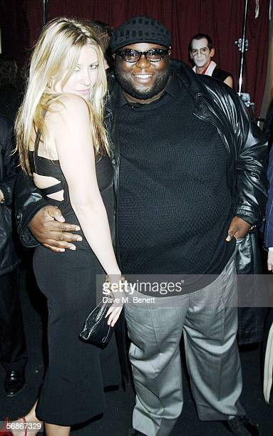 Sara Buys and Ade attend the magazine launch party thrown by editor Lucy Yeomans for British Harper's Bazaar at Club Cirque on February 16 2006 in...