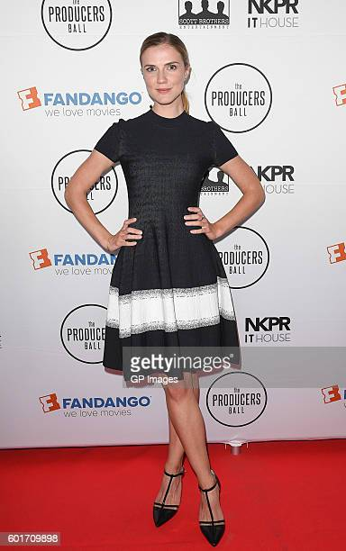 Sara Canning attends the 6th Annual Producers Ball presented by Fandango in support of The 2016 Toronto International Film Festival at IT House x...