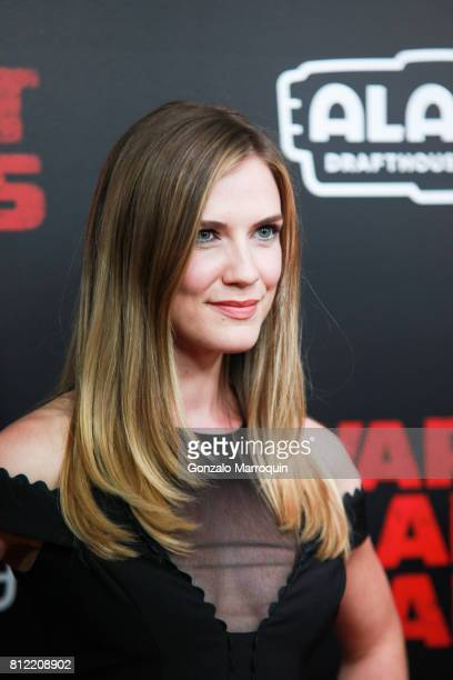 Sara Canning attends the War For The Planet Of The Apes New York Premiere at SVA Theatre on July 10 2017 in New York City