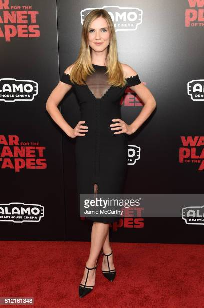 Sara Canning attends War for the Planet Of The Apes premiere at SVA Theater on July 10 2017 in New York City