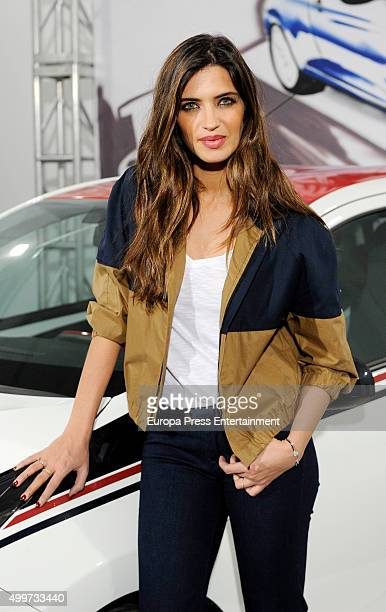 Sara Carbonero attends 'Ago' by Lomba campaign on December 2 2015 in Madrid Spain