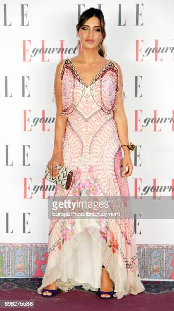 Sara Carbonero attends Elle Gourmet Awards photocall at Italian Embassy on June 19 2017 in Madrid Spain