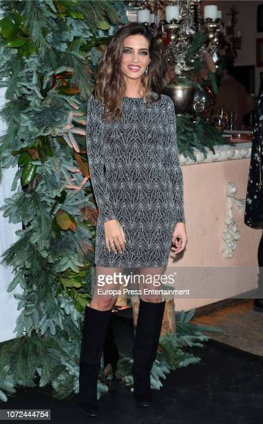 Sara Carbonero attends the Elle Christmas Party on December 12 2018 in Madrid Spain