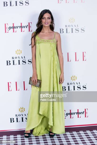 Sara Carbonero attends the 'ELLE Gourmet Awards' 2018 at the Italian Embassy on July 2 2018 in Madrid Spain
