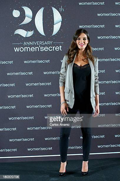 Sara Carbonero is presented as the new image of Women Secret at the Villamagna Hotel on September 11 2013 in Madrid Spain