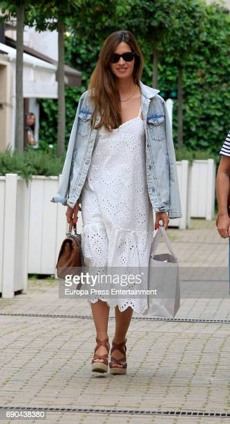Sara Carbonero is seen on May 30 2017 in Madrid Spain