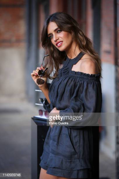 Sara Carbonero presents 'Flash' Collection sunglasses By polaroid on April 11 2019 in Madrid Spain
