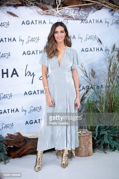 Sara Carbonero presents 'Mi Mar' collection for Agatha Paris on November 6 2018 in Madrid Spain