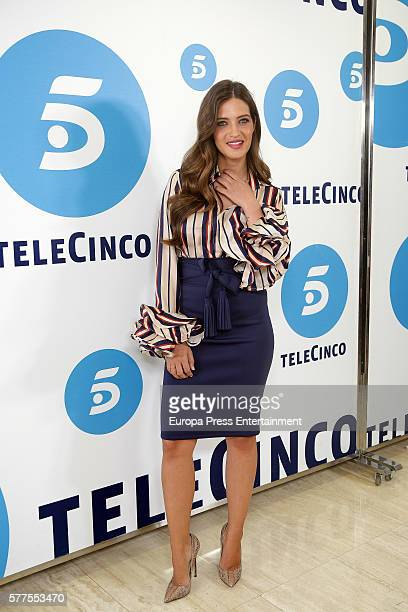 Sara Carbonero presents 'Quiero Ser' Tv show at Telecinco on July 18 2016 in Madrid Spain