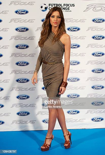 Sara Carbonero presents the new 'Ford Focus' contest on February 24 2011 in Madrid Spain