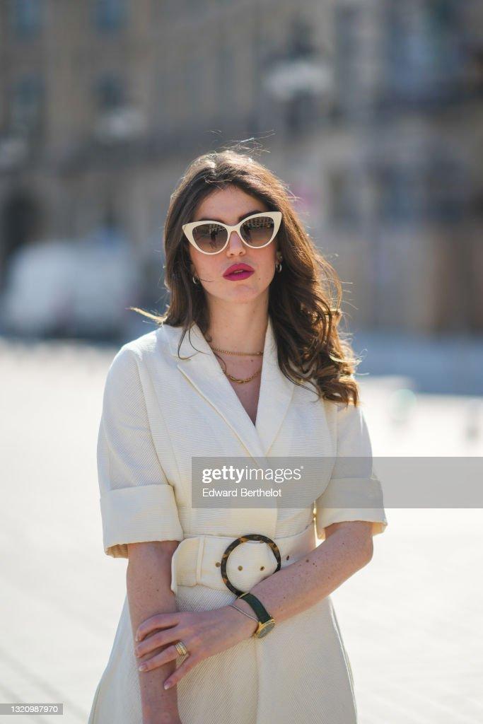 Fashion Photo Session In Paris - April 2021 : News Photo
