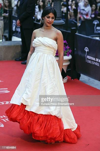 Sara Casasnovas attends the 14th Malaga Film Festival closing ceremony at Cervantes Theatre on April 3 2011 in Malaga Spain