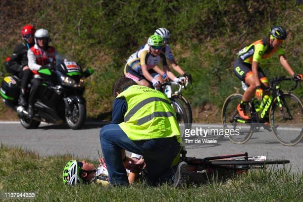 Sara Casasola of Italy and Team Servetto Piumate Beltrami TSA / Doctor / Medical Problem / during the 44th Trofeo Alfredo BindaComune di Cittiglio...