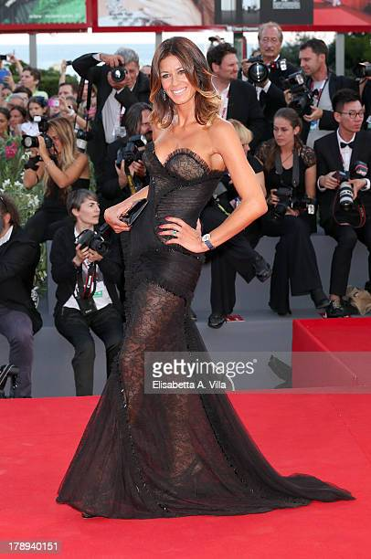 Sara Cavazza Facchini attends the 'Philomenia' Premiere during The 70th Venice International Film Festival at the Palazzo del Casino on August 31...
