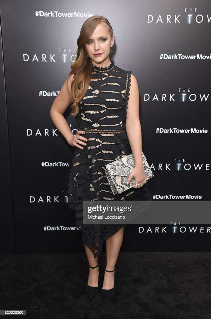 Sara Cicilian attends 'The Dark Tower' New York Premiere on July 31, 2017 in New York City.