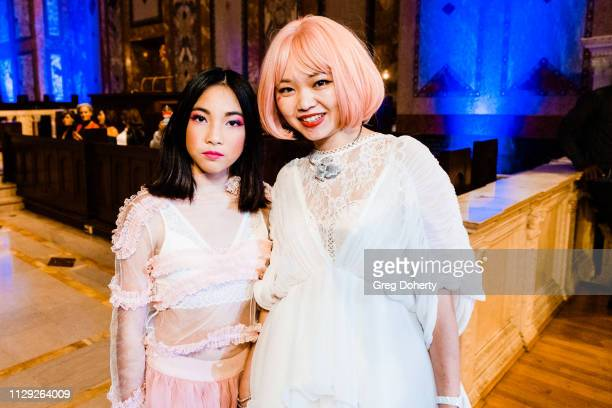 Sara Cline Creator of Milanblocks attends Sanctuary Fashion Week on March 7 2019 in Los Angeles California