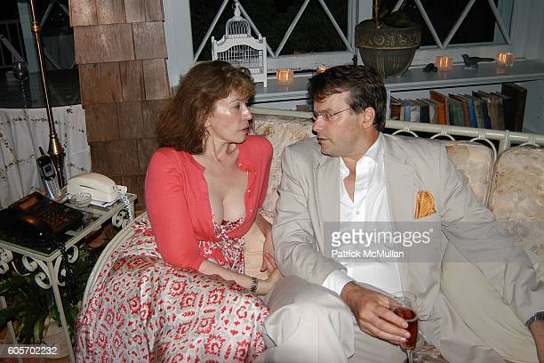 Sara Colleton and Billy Kimball attend FRANCES HAYWARD Dinner Party For ANNE HEARST and JAY MCINERNEY to Celebrate Their Engagement at Grey Gardens...
