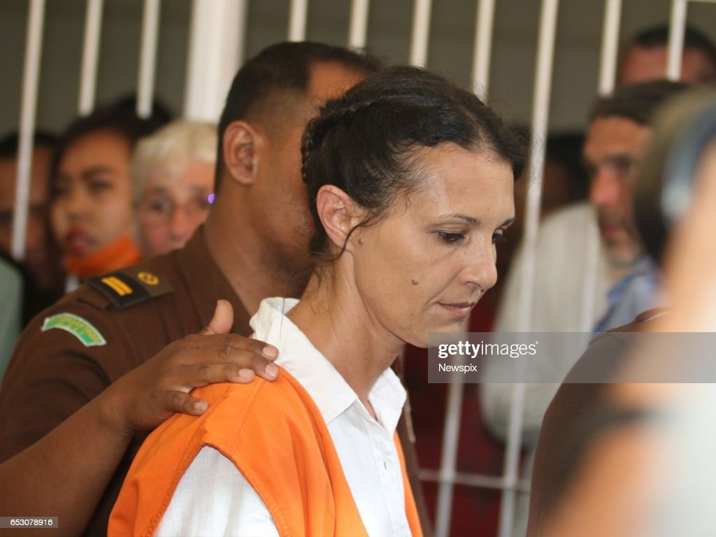 BALI, INDONESIA - (EUROPE AND AUSTRALASIA OUT) Sara Connor arrives for sentencing at the Denpasar District Court in Bali, Indonesia. Sara was sentenced to 4 years for her role in the killing of a Bali police officer.