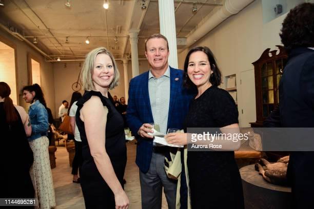 Sara Cook, Jay Stroman and Siara Abdulla attend A Place Behind The Oak Tree|Margit Brundin At Dienst + Dotter Antikviteter at Dienst + Dotter...