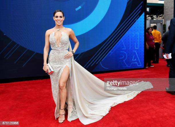 Sara Corrales attends The 18th Annual Latin Grammy Awards at MGM Grand Garden Arena on November 16 2017 in Las Vegas Nevada